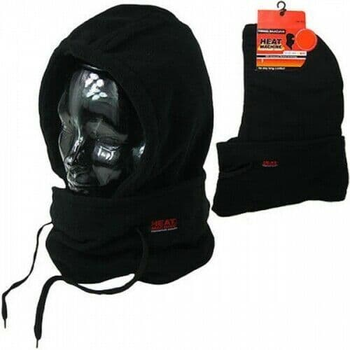 Mens Thermal Snood Balaclava Neck Warmer Face Mask Polar Fleece 2.5 tog Winter - 164497467505